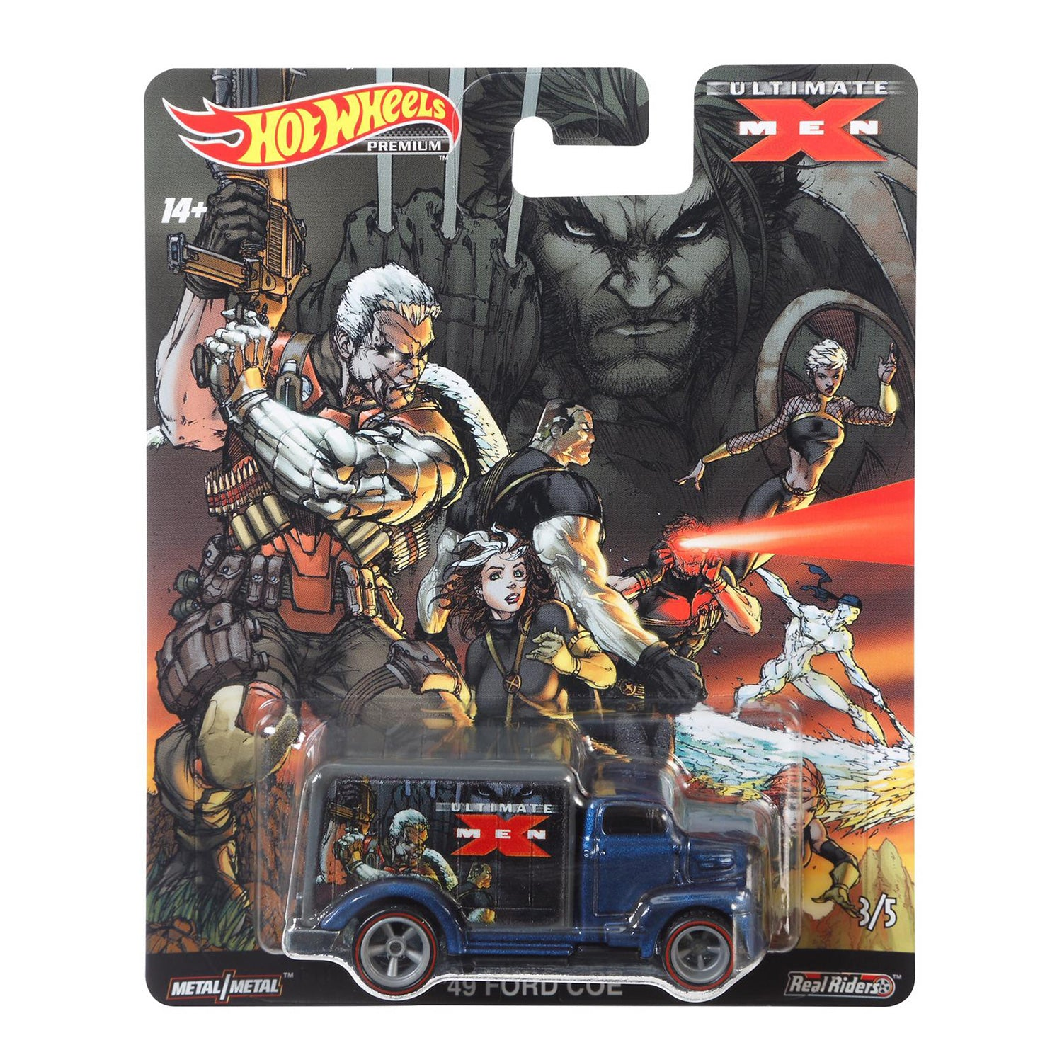 HOT WHEELS POP CULTURE X-MEN '49 FORD COE