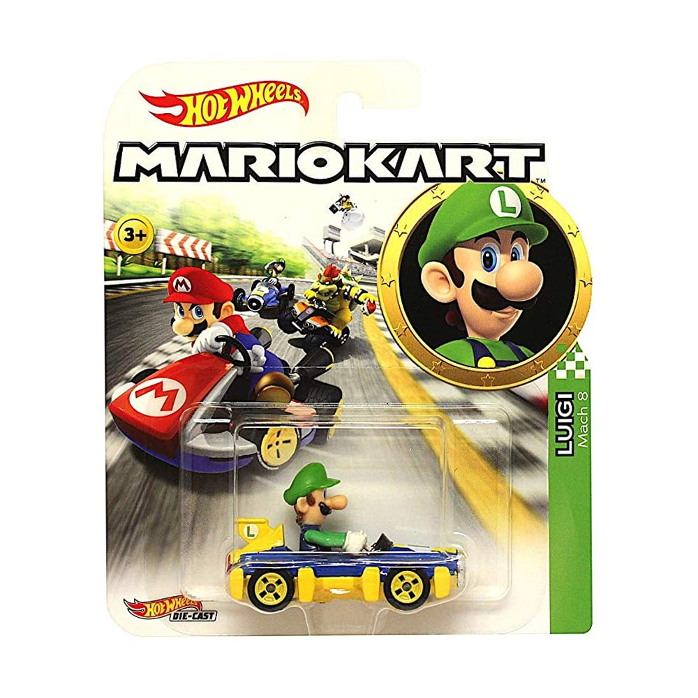 HOT WHEELS MARIO KART - LUIGI
