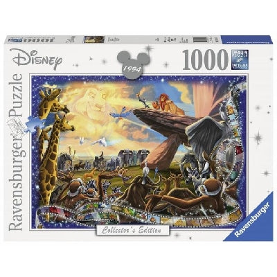RAVENSBURGER - DISNEY MOMENTS LION KING PUZZLE 1994 1000
