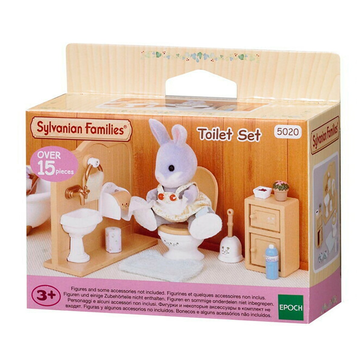 SF TOILET SET | SYLVANIAN FAMILIES | Toyworld Frankston