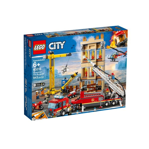LEGO CITY 60216 DOWNTOWN FIRE BRIGADE | LEGO | Toyworld Frankston