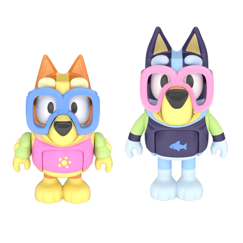 BLUEY FIGURE 2 PACK POOL TIME