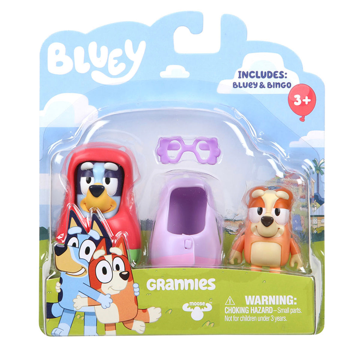 BLUEY FIGURE 2 PACK GRANNIES