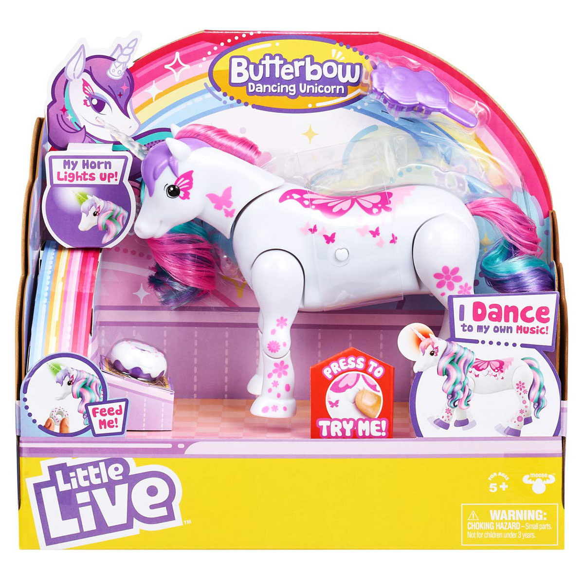 LITTLE LIVE BUTTERBOW UNICORN