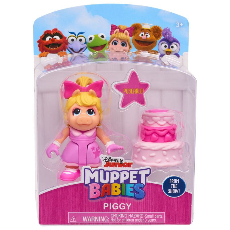 MUPPET BABIES FIGURE AND ACCESSORIES - PIGGY