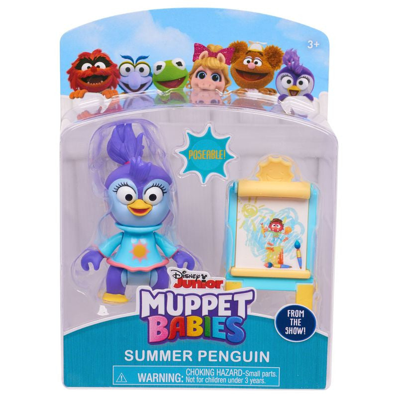 MUPPET BABIES FIGURE AND ACCESSORIES - SUMMER PENGUIN