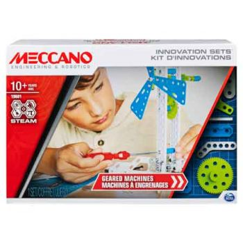 MECCANO GEARED MACHINES (SET 3)
