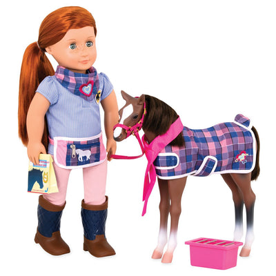 OUR GENERATION QUARTER HORSE FOAL | OUR GENERATION | Toyworld Frankston