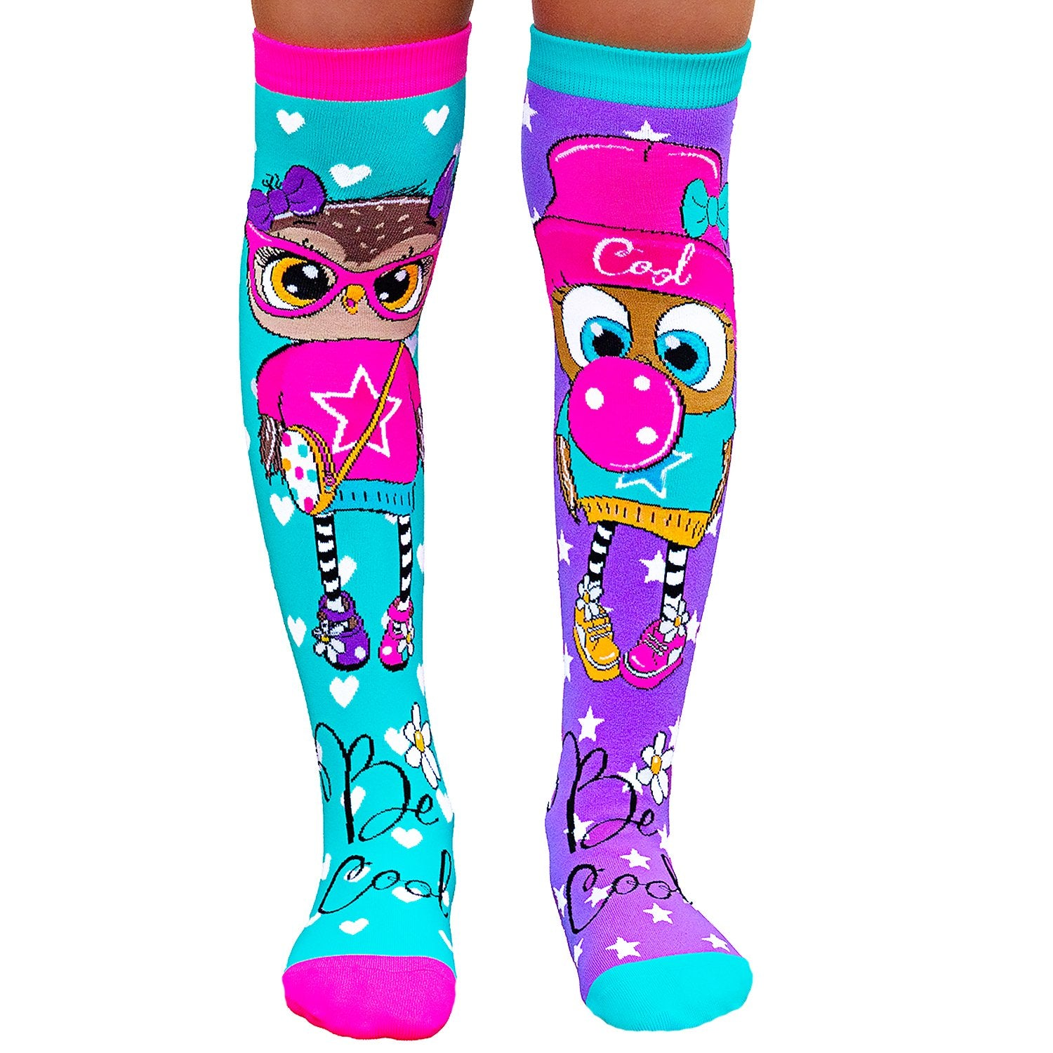 MADMIA OWL SOCKS with Bow at the back