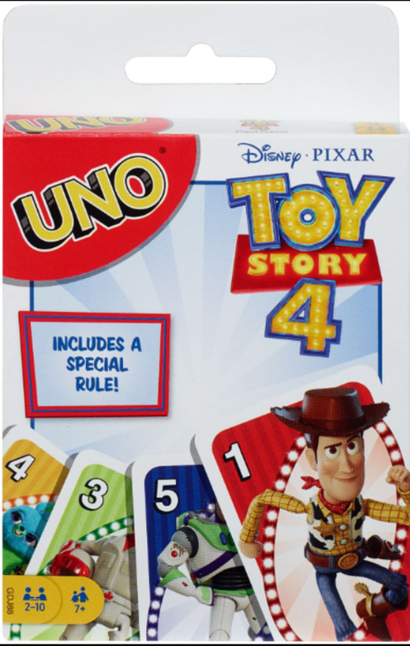 TOY STORY 4 UNO | TOY STORY | Toyworld Frankston