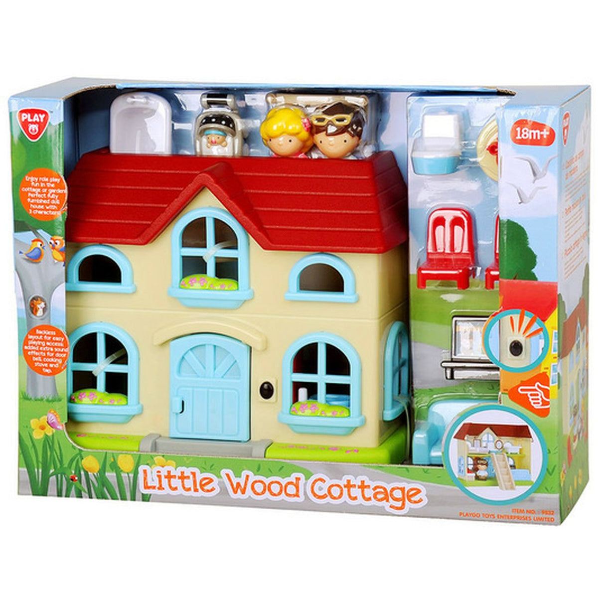 PLAYGO TOTSTOWN COTTAGEPLAYSET | Toyworld Frankston | Toyworld Frankston