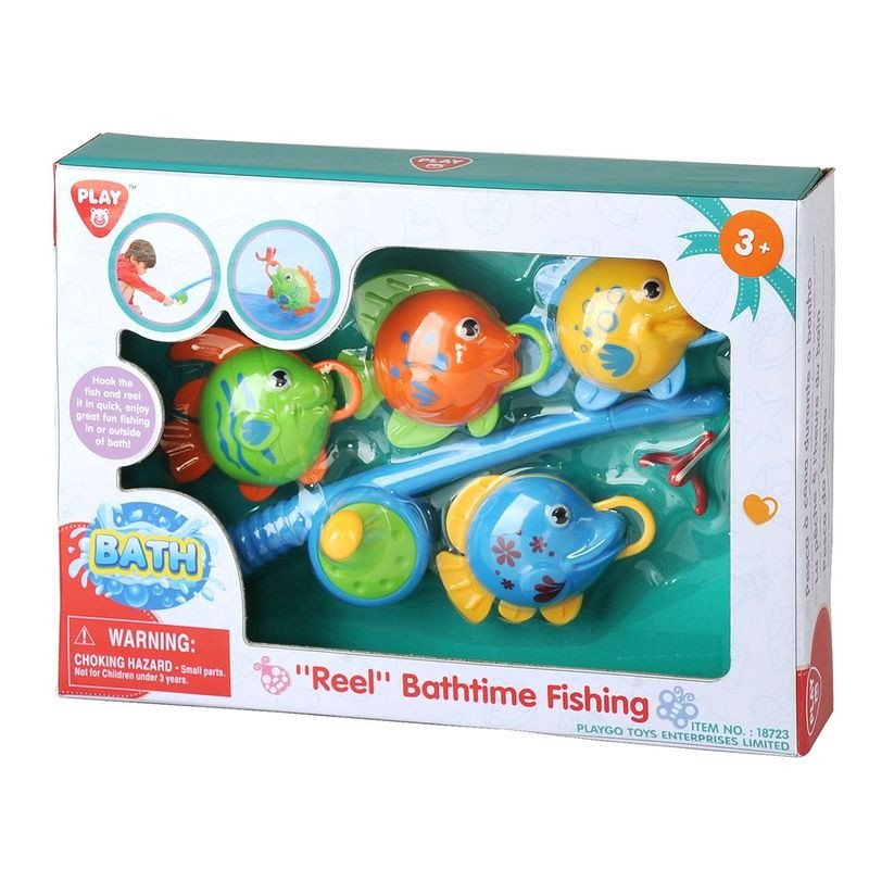 PLAYGO REEL BATHTIME FISHING