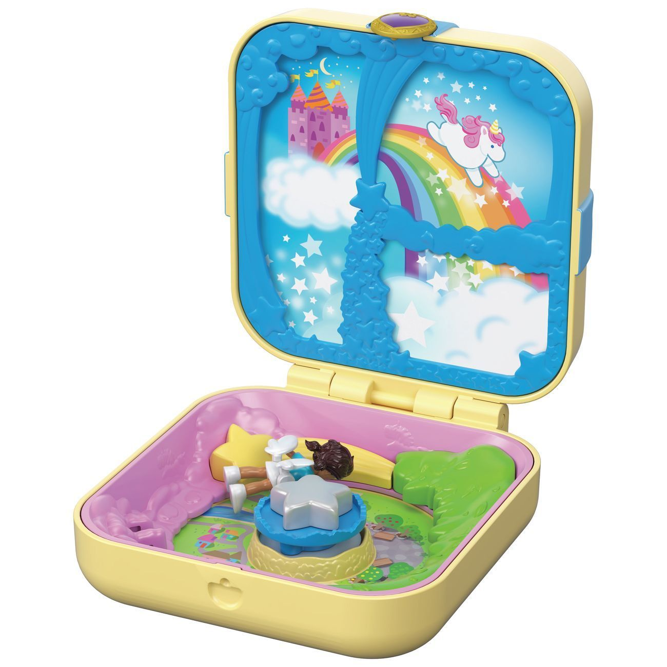 POLLY POCKET HIDDEN HIDEOUTS - UNICORN UTOPIA