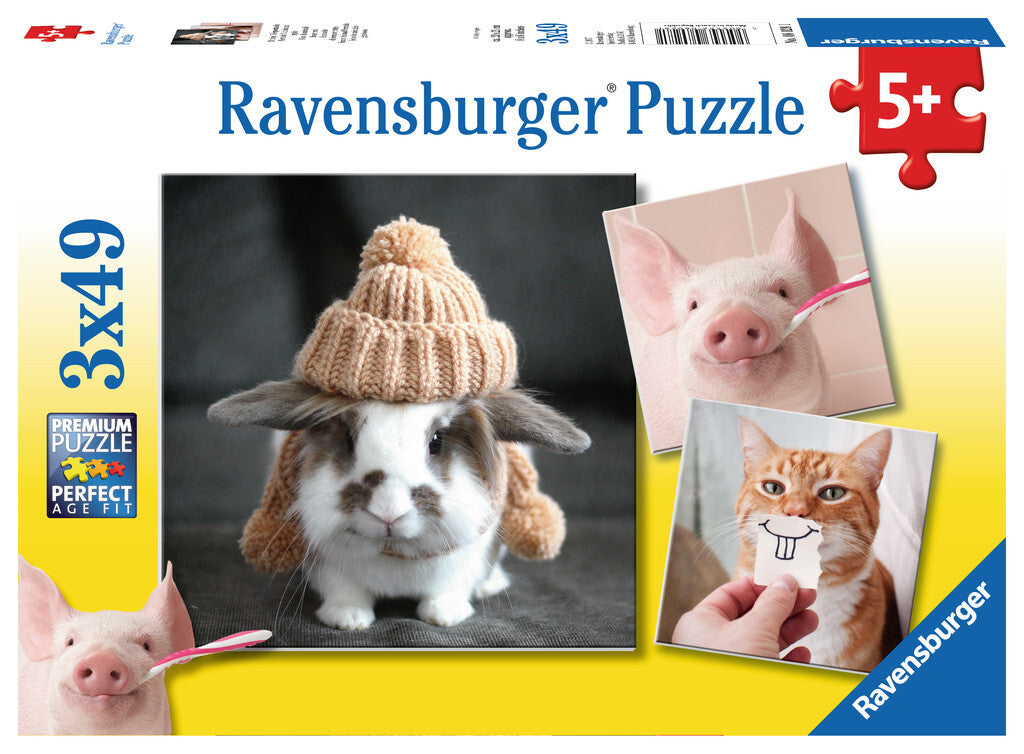 RBURG FUNNY ANIMAL PORTRAITS PUZZLE