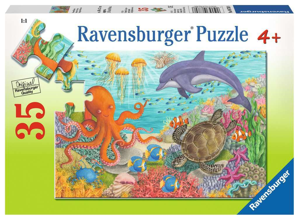 R-BURG - SEA KIDS PUZZLE 35PC