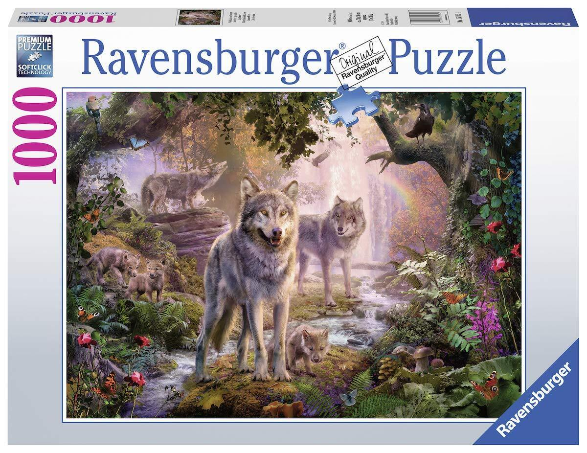 RBURG SUMMER WOLVES 1000PC PUZZLE
