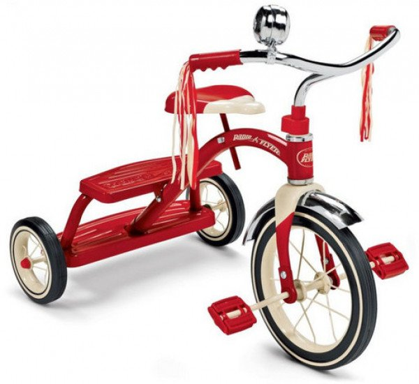 RADIO FLYER CLASSIC DUAL DECK TRIKE | Toyworld Frankston | Toyworld Frankston