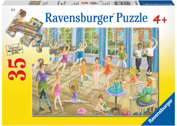 RAVENSBURGER - BALLET LESSON 35PC PUZZLE | RAVENSBURGER | Toyworld Frankston