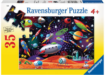 RAVENSBURGER SPACE 35PC PUZZLE | RAVENSBURGER | Toyworld Frankston