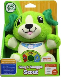 LEAPFROG SING & SNUGGLE SCOUT | Toyworld Frankston | Toyworld Frankston
