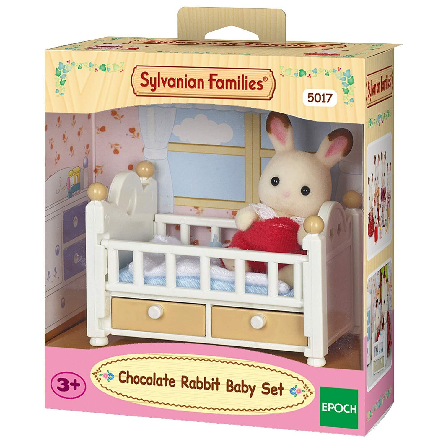SF CHOCOLATE RABBIT BABY SET