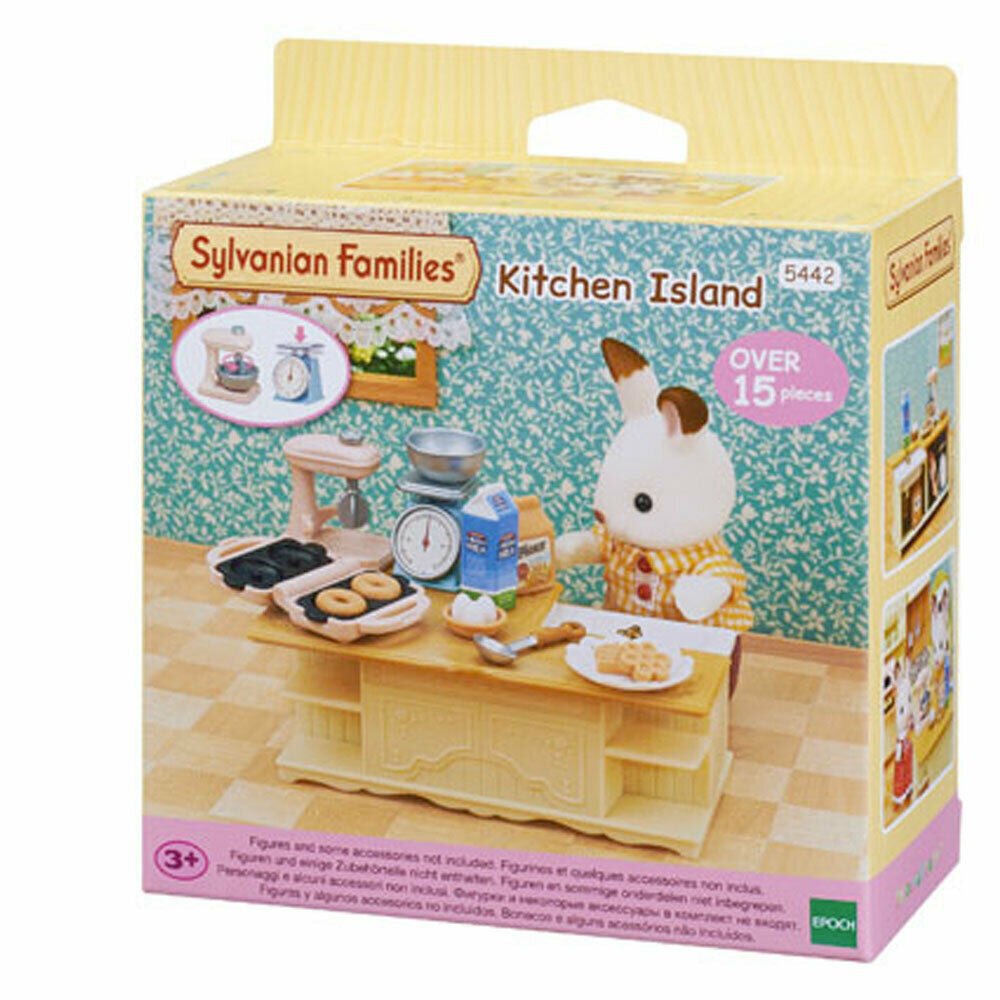 SYLVANIAN FAMILIES KITCHEN ISLAND | Toyworld Frankston | Toyworld Frankston