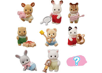 SYLVANIAN FAMILIES BABY CAMPING SERIES ASSORTMENTS