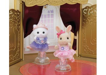 SF - BALLERINA FRIENDS | SYLVANIAN FAMILIES | Toyworld Frankston