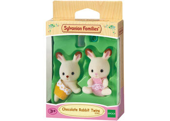 SF - CHOCOLATE RABBIT TWINS | SYLVANIAN FAMILIES | Toyworld Frankston