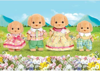 SF - TOY POODLE FAMILY | SYLVANIAN FAMILIES | Toyworld Frankston