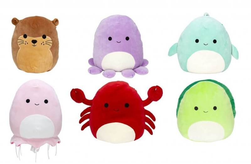 SQUISHMALLOWS 12 INCH ASSORTMENT SEALIFE