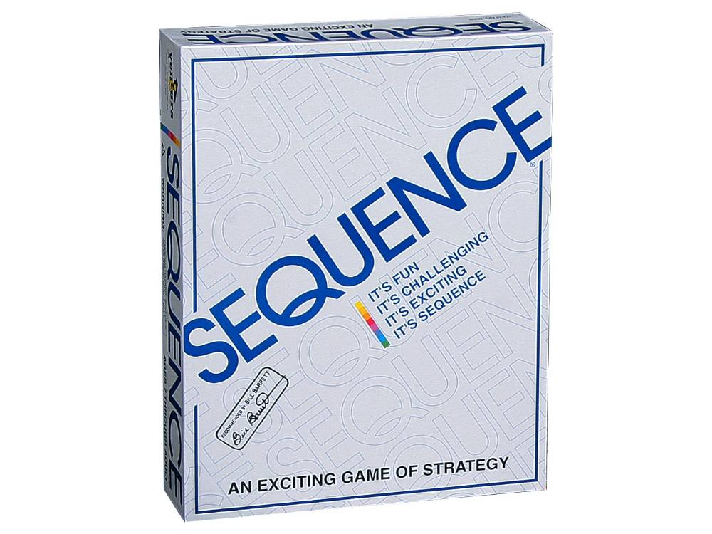 SEQUENCE BOARD GAME | Toyworld Frankston | Toyworld Frankston