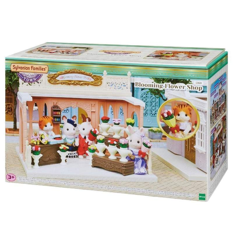SYLVANIAN FAMILIES - BLOOMING FLOWER SHOP | SYLVANIAN FAMILIES | Toyworld Frankston