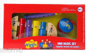 THE WIGGLES MINI MUSIC SET | WIGGLES | Toyworld Frankston