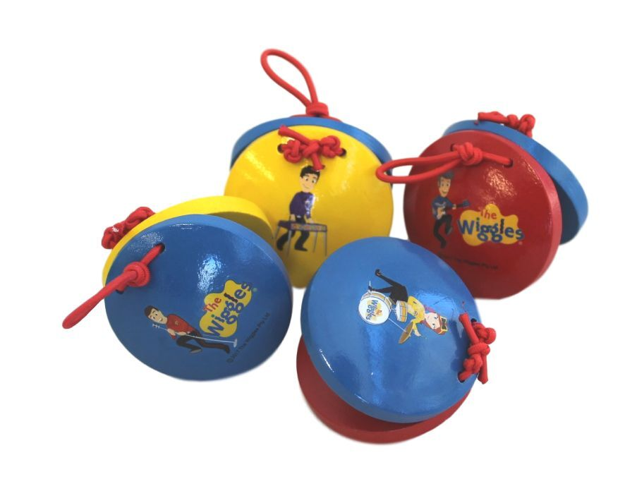 THE WIGGLES MINI CASTANETS | WIGGLES | Toyworld Frankston