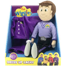 DRESS UP LACHY DOLL | WIGGLES | Toyworld Frankston