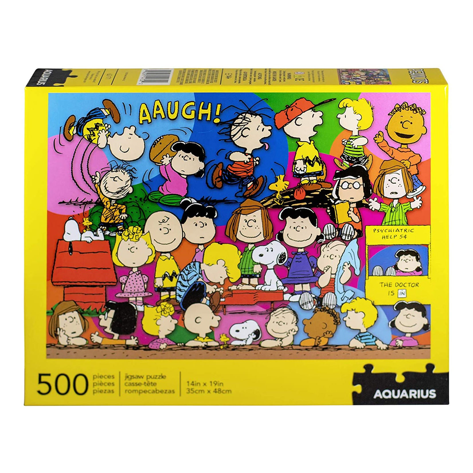 PEANUTS CAST 500 PC PUZZLE