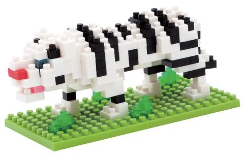 NANOBLOCK WHITE TIGER | Nanoblocks | Toyworld Frankston