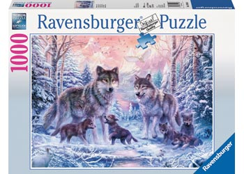 RBURG ARCTIC WOLF PUZZLE 1000PC | Toyworld Frankston | Toyworld Frankston