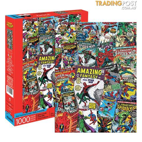 MARVEL SPIDERMAN COLLAGE 1000 PC PUZZLE