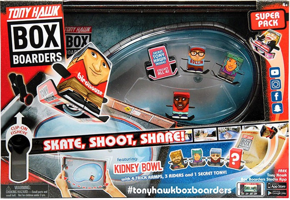 TONY HAWK BOX BOARDERS - SUPER PACK