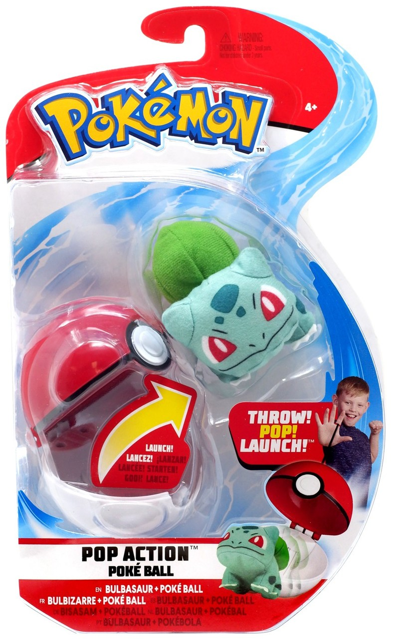 POKEMON POP ACTION POKEBALL BULBASAUR