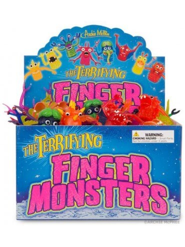 ARCHIE MCPHEE - MONSTER FINGER PUPPETS