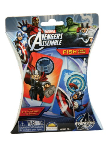 FISH CARD GAME AVENGERS