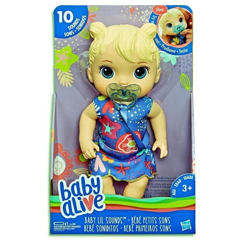 BABY ALIVE SWEET SOUND BABY - BLONDE | BABY ALIVE | Toyworld Frankston