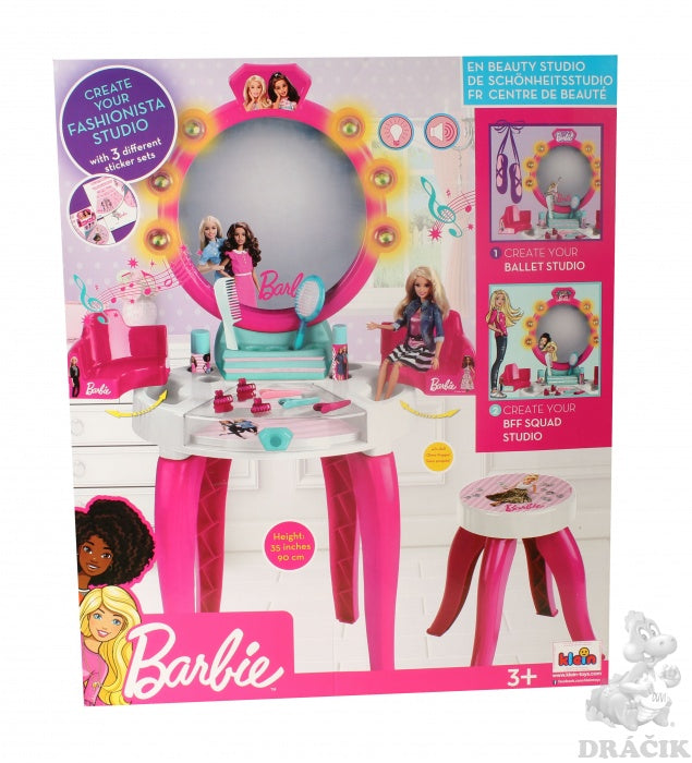 BARBIE BEAUTY STUDIO W/ACC LIGHT & SOUND