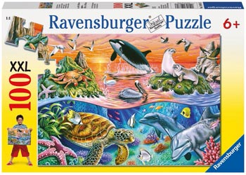 RAVENSBURGER BEAUTIFUL OCEAN100PC PUZZLE | RAVENSBURGER | Toyworld Frankston