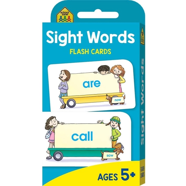 SCHOOL ZONE: SIGHT WORDS FLASH CARDS