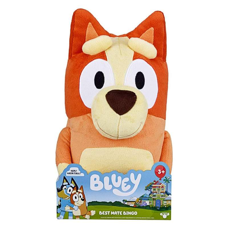 BLUEY JUMBO BINGO PLUSH | Bluey | Toyworld Frankston