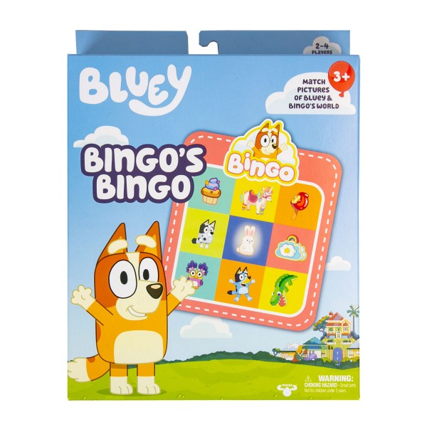 BLUEY BINGO'S BINGO | Toyworld Frankston | Toyworld Frankston